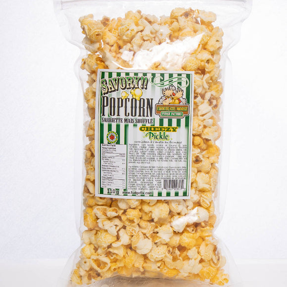 Cheezy Pickle Popcorn - HandmadeSask