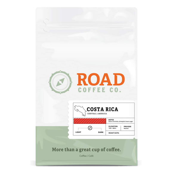 12oz Ground Coffee - Costa Rica - HandmadeSask