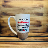 Hallmark Movie Glitter Mug - HandmadeSask