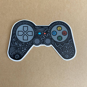 Game On Waterproof Sticker - HandmadeSask