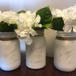 Mason Jar Set - 3pc - HandmadeSask