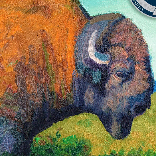 Honouring the buffalo - HandmadeSask