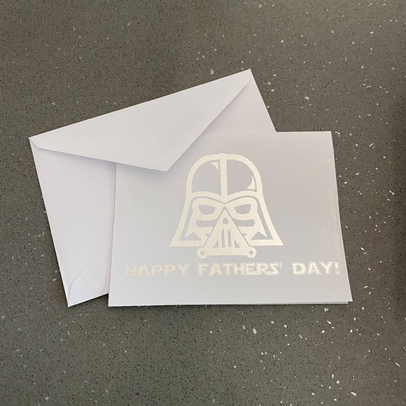 Darth Vader Happy Fathers' Day! Card - HandmadeSask