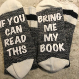 Bring Me My Book Socks - HandmadeSask
