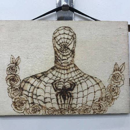 wall art - Spiderman - HandmadeSask