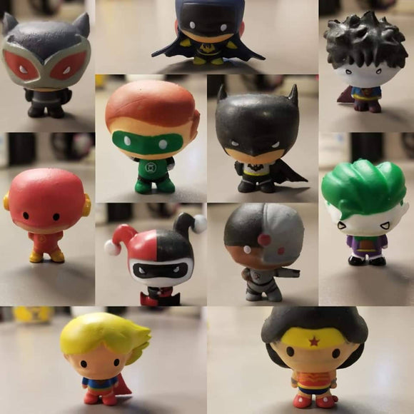 DC Comic Figurines Bath Bombs - HandmadeSask