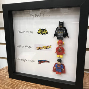 My Dad Is DC Shadow Box - HandmadeSask