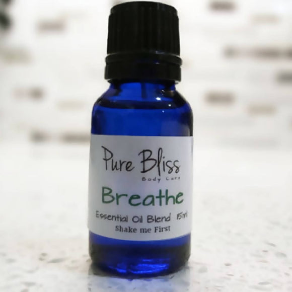 Breathe Essential Oil Blend - HandmadeSask