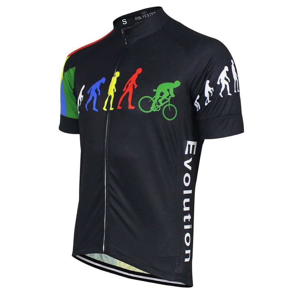 Evolution Of Man Cycling Jersey