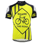 Share The Road Cycling Jersey - Granny Gear