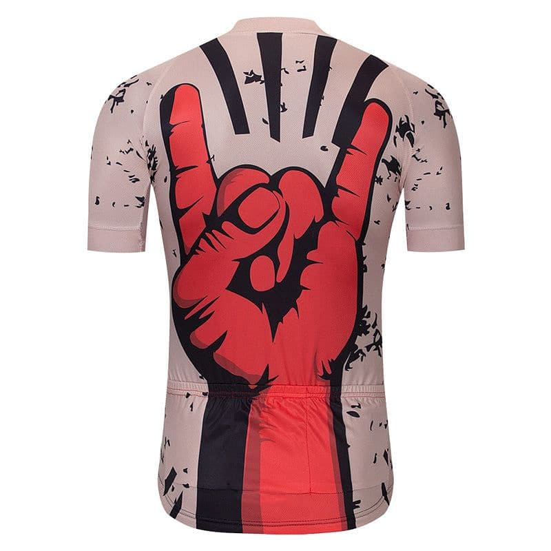 Rock On Cycling Jersey - Granny Gear