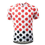 Polka Dots Cycling Jersey - Granny Gear