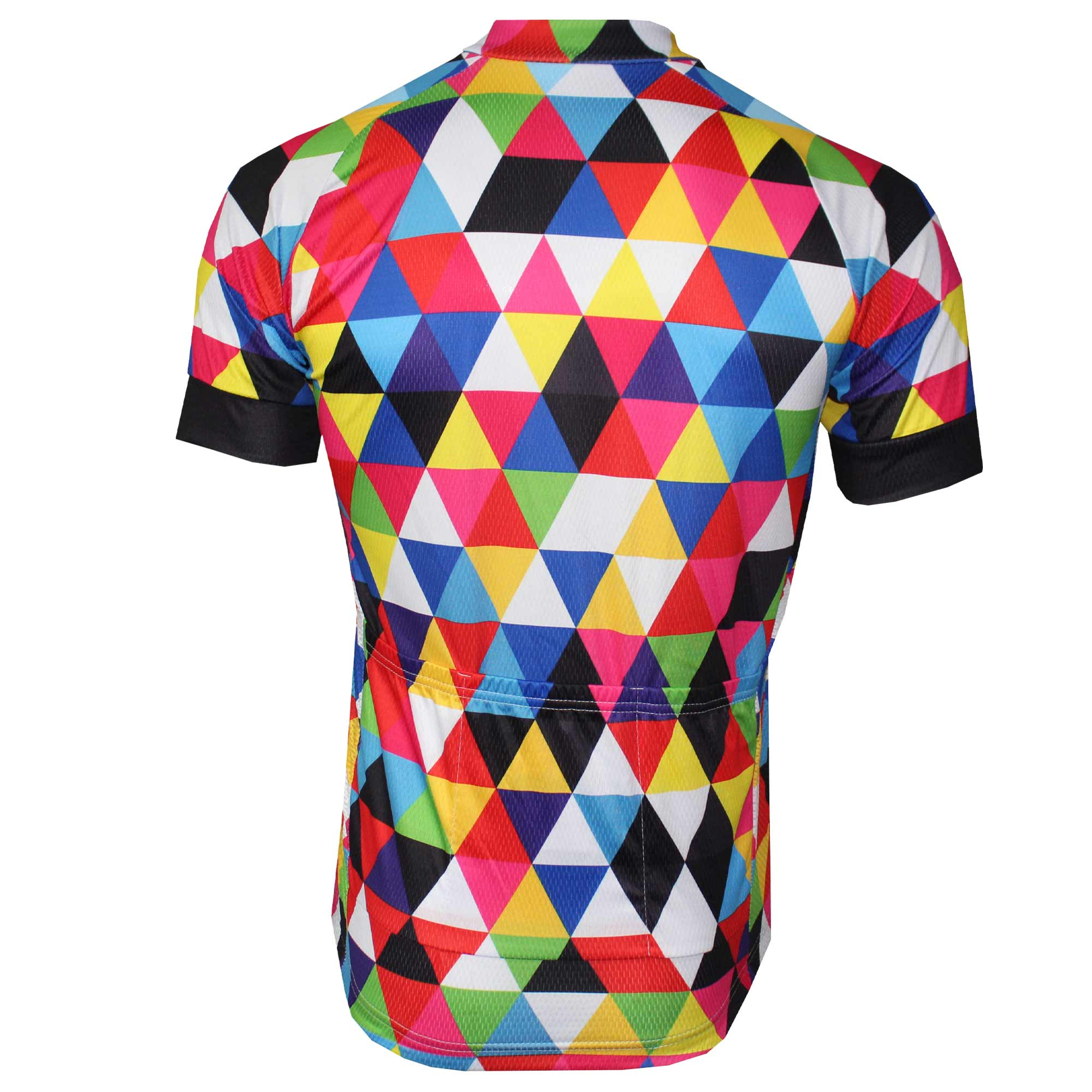Colourful Triangles Cycling Jersey - Granny Gear