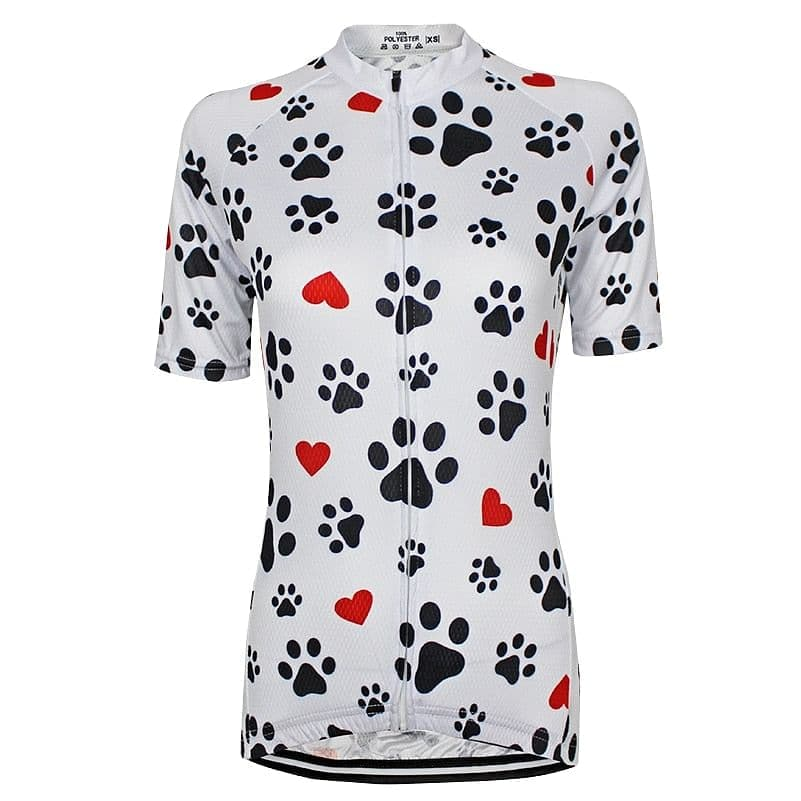 Paws & Love Cycling Jersey - Granny Gear