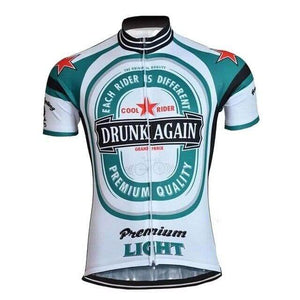 Drunk Again Cycling Jersey - Granny Gear