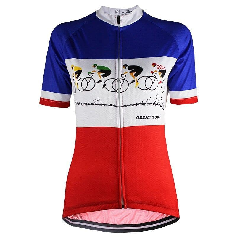Great Tour Cycling Jersey - Granny Gear