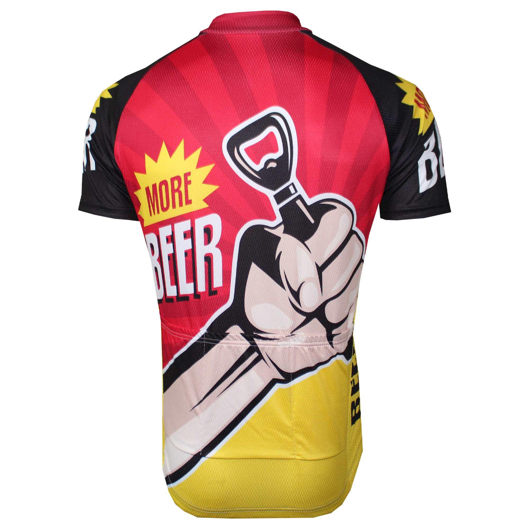 More Beer Bottle Opener Cycling Jersey - Granny Gear