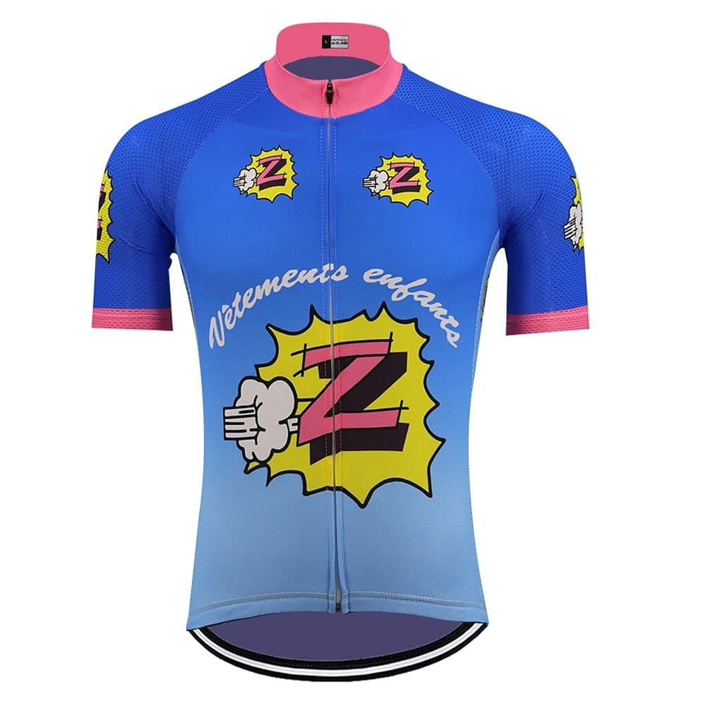 Retro Z Vetements Cycling Jersey