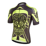 Yellow Day Of The Dead Cycling Jersey - Granny Gear