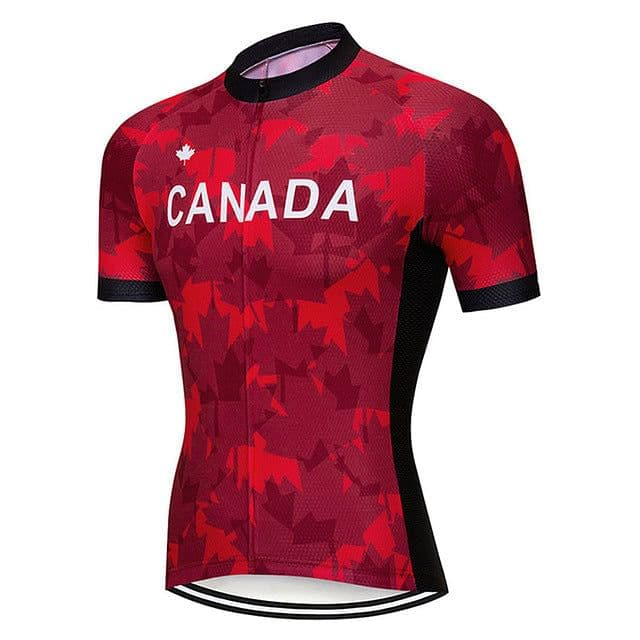 Canada Maple Leaf Cycling Jersey - Granny Gear
