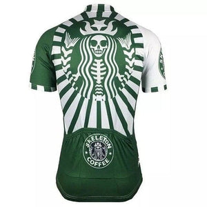 Skeleton Coffee (Starbucks Style) Cycling Jersey - Granny Gear