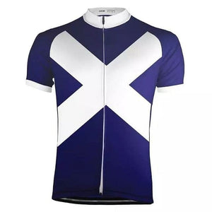 Scotland Flag Cycling Jersey - Granny Gear