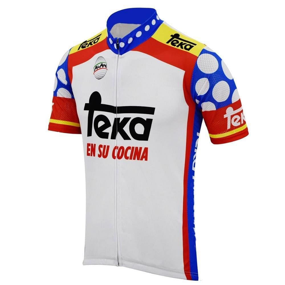 Retro Teka Cycling Jersey - Granny Gear