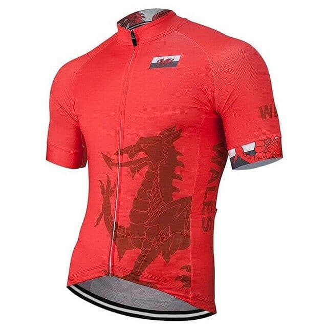 Wales Cycling Jersey - Granny Gear