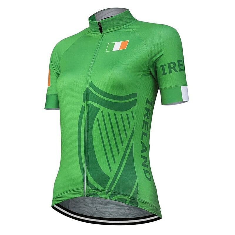 Women's Ireland Cycling Jersey - Granny Gear