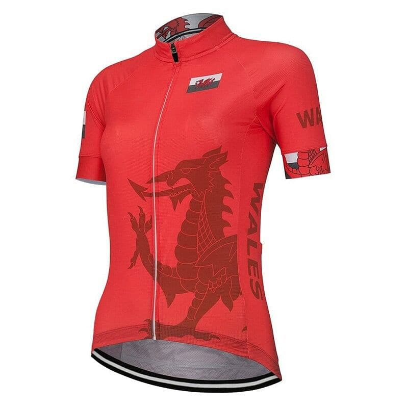 Women's Wales Cycling Jersey - Granny Gear