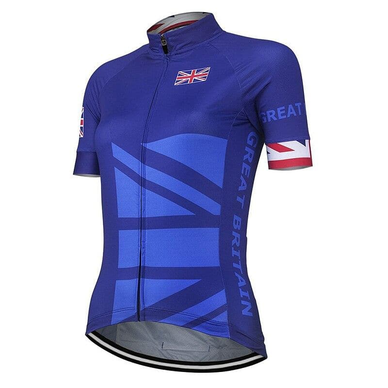 Women's Great Britain Cycling Jersey - Granny Gear