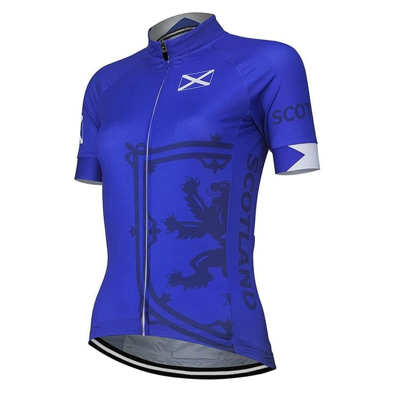 Women's Scotland Cycling Jersey - Granny Gear