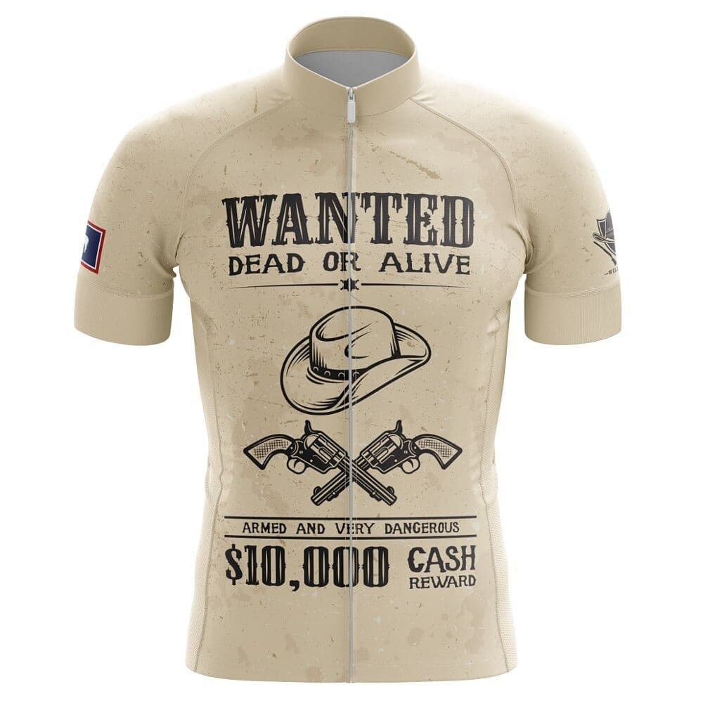 Wanted Dead Or Alive Cycling Jersey