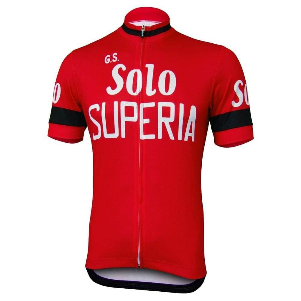 Retro G.S. Solo Superia Cycling Jersey - Granny Gear