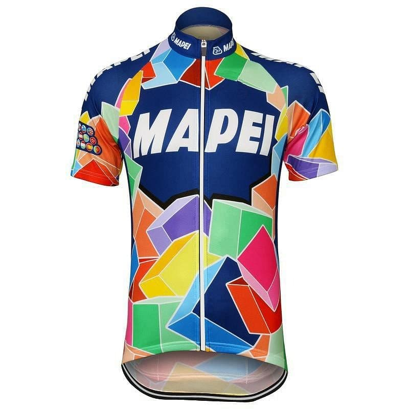 Retro Mapei Cycling Jersey - Granny Gear