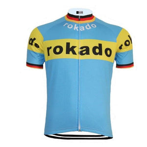 Retro Rokado Cycling Jersey - Granny Gear