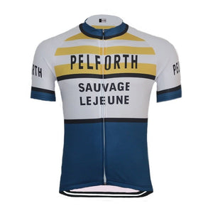 Retro Pelforth Sauvage Lejeune Cycling Jersey - Granny Gear