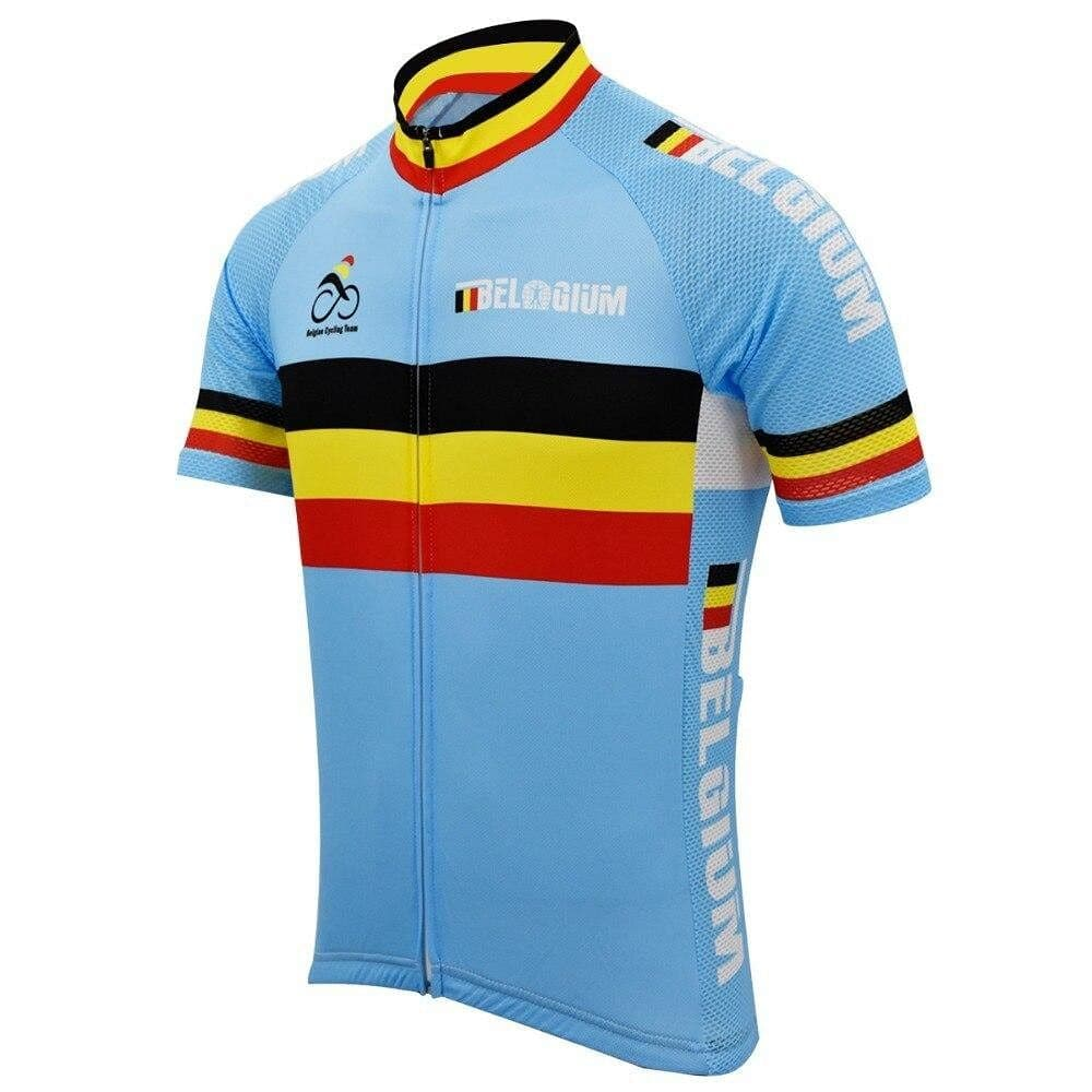 Retro Belgium Cycling Jersey - Granny Gear