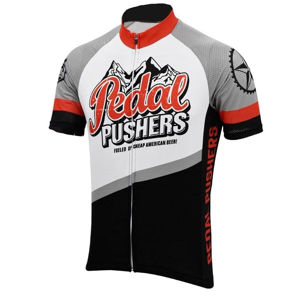 Pedal Pushers (Coors Style) Cycling Jersey - Granny Gear