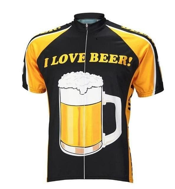 I Love Beer! Cycling Jersey - Granny Gear