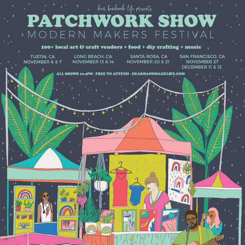 Patchwork Show Fall 2021 Schedule