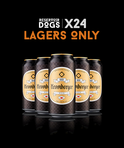 24 Pack Lagers Only