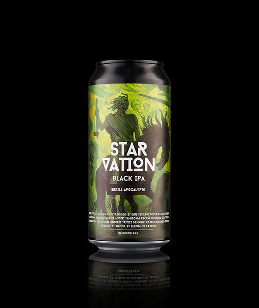 Starvation, Black IPA