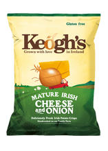 Load image into Gallery viewer, Mature Irish Cheese and Onion Crisps 12x50g