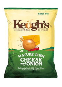 Mature Irish Cheese and Onion Crisps 12x50g