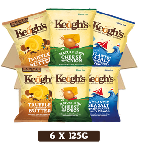 Farm Favourites + Limited Edition Truffle & Real Irish Butter Crisps 6x125g