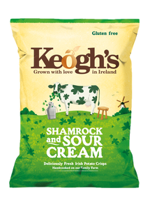 Shamrock and Sour Cream Crisps