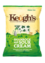 Load image into Gallery viewer, Shamrock & Sour Cream Crisps 6X125g