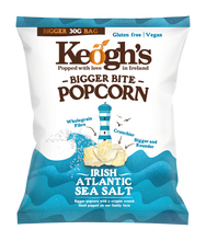 Load image into Gallery viewer, Irish Atlantic Sea Salt Popcorn 12x30g