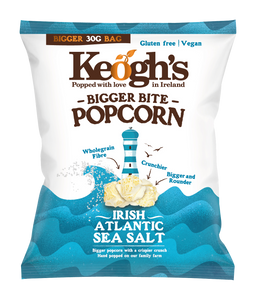 Irish Atlantic Sea Salt Popcorn 12x30g